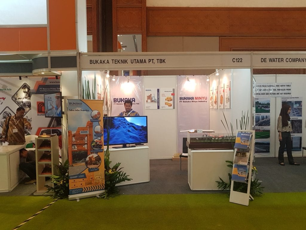 Minyu Machinery at IIICE 2016 Indonesia