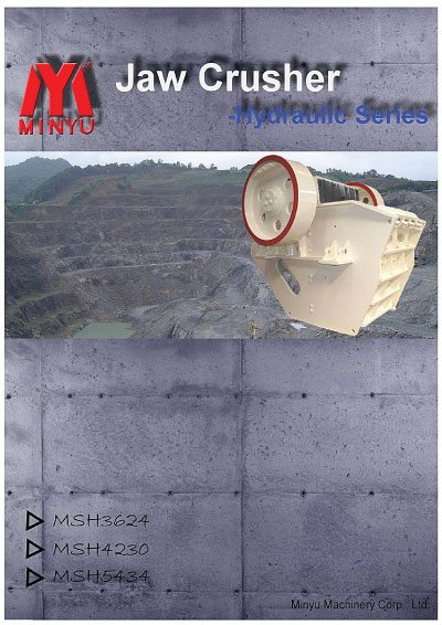 Hydraulic Nitrogen Jaw Crusher Minyu Flyer