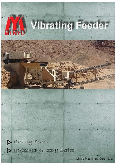 Vibrating Feeder Minyu Flyer