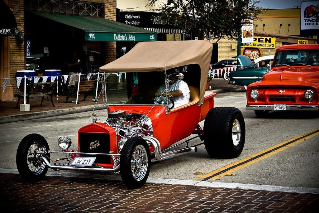 Classic Car from 2017 Thunderfest Car Show in Downtown Covina